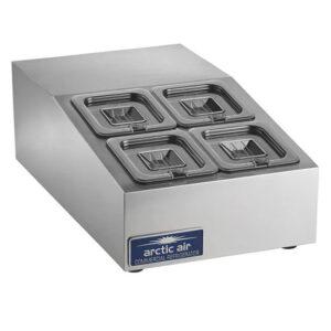 Arctic Air 4 pan compact counter prep unit