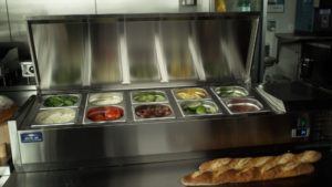 Refrigerated Counter-Top Prep Unit