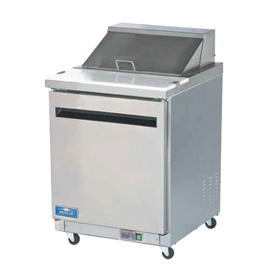 Arctic Air 28 inch sandwich and salad prep table