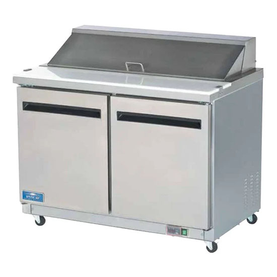 Arctic Air 48 inch sandwich and salad prep table