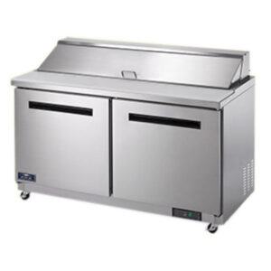 Arctic Air 60 inch sandwich and salad prep table