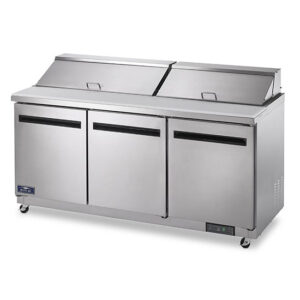 Arctic Air 72 inch sandwich and salad prep table