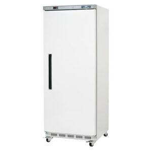 Arctic Air White 25 inch reach in freezer door closed