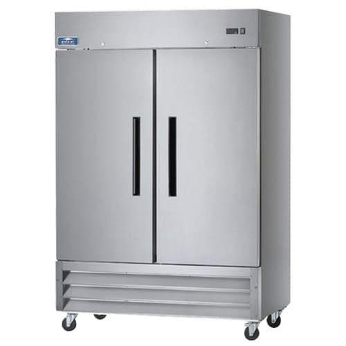 MODEL AR49 - TWO DOOR REACH-IN REFRIGERATOR - STAINLESS