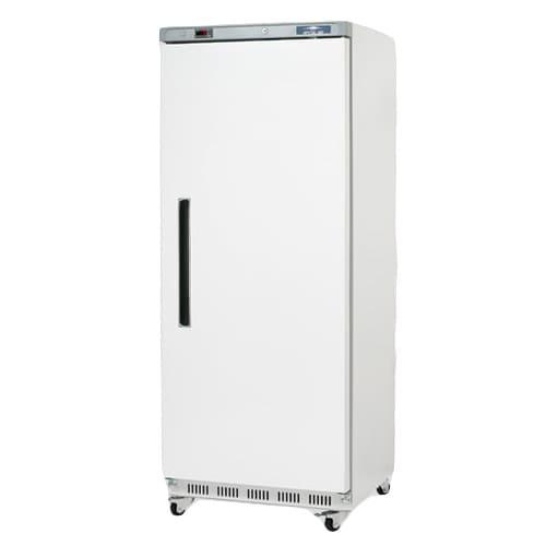 MODEL AWR25 - ONE DOOR REACH-IN REFRIGERATOR - WHITE