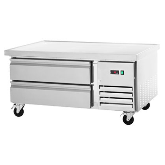 """REFRIGERATED CHEF BASE - TWO DRAWER 48"""""""