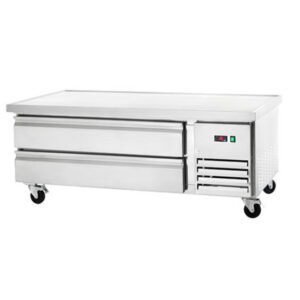 """REFRIGERATED CHEF BASE - TWO DRAWER 60"""""""